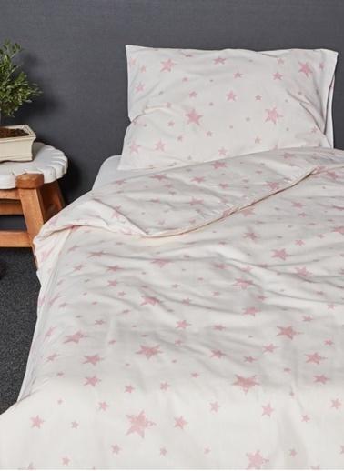 Hibboux 100x150 Star Bebek Nevresim + Yastık Kılıfı - W.Rose Renkli